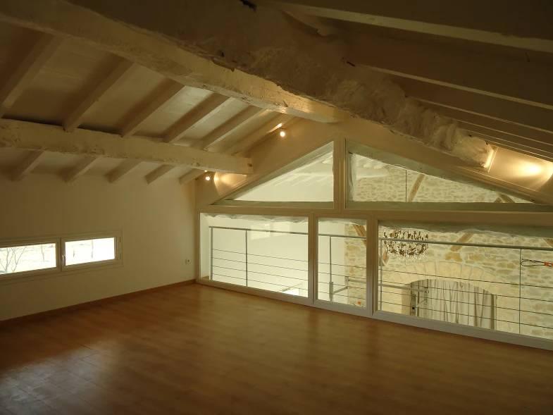 Fermeture vitrée de mezzanine