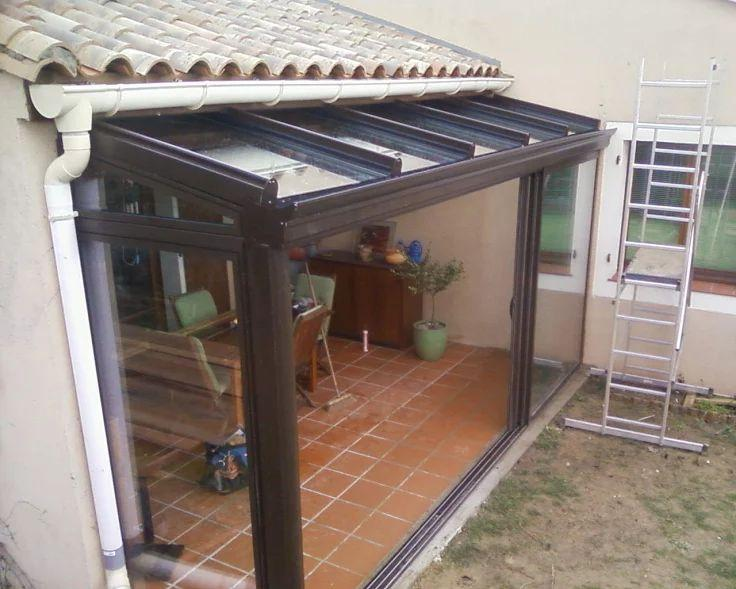 Beautiful photo fermer une terrasse couverte pictures - Fermer une terrasse ...